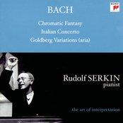 Bach: Aria from Goldberg Variations, BWV 989; Italian Concerto, BWV 971; Chromatic Fantasy and Fugue, BWV 903a; Cappricio; BWV 992; Brandenburg Concerto No. 5