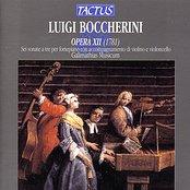 Boccherini: Opera XII - Sonate a tre per clavicembalo o per fortepiano con accompagnamento di violino e violincello