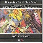 Evegeny Mravinsky, Lenigrad Philharmonik Orchestra
