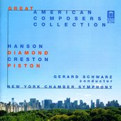 Diamond, D.: Music for Romeo and Juliet / Piston, W.: Sinfonietta / Creston, P.: Choreografic Suite (Great American Composers Collection)