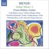 HENZE: Guitar Music, Vol. 1