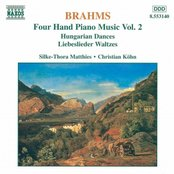 BRAHMS: Four-Hand Piano Music, Vol. 2