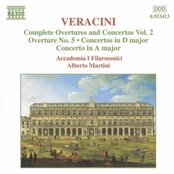 VERACINI: Overtures and Concertos, Vol.  2