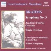 BRAHMS: Symphonies Nos. 1 and 3 (Mengelberg) (1930-1941)