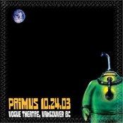 2003-10-24: Tour de Fromage @ Vogue Theatre, Vancouver, BC (set 2 beginning)