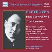 BEETHOVEN: Piano Concerto No. 3 / Triple Concerto (Weingartner) (1937-1939)