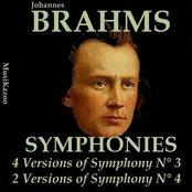 Brahms, Vol. 7 : Symphonies No.3 (Four Versions) & No. 4 (Two Versions)
