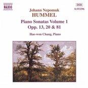 HUMMEL: Piano Sonatas Opp. 13, 20 and 81