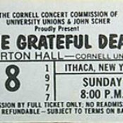 1977-05-08 - Barton Hall,Cornell University, Ithaca, NY