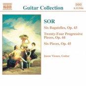 SOR: 6 Bagatelles, Op. 43 / Progressive Pieces, Op. 44