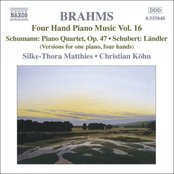 BRAHMS: Four-Hand Piano Music, Vol. 16