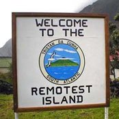 Welcome to the remotest island