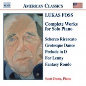 FOSS:  Works for Solo Piano (Complete)