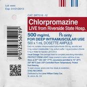 Chlorpromazine (Live from Riverside State Hospital)