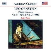 ORNSTEIN: Piano Sonatas Nos. 4 and 7