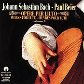 Johann Sebastian Bach: Opere per liuto, Vol. 1