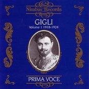 Prima Voce: Gigli Volume 1, 1918-1924