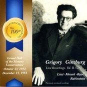 Grigory Ginzburg: Live Recordings. Vol. II. CD 2