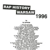 Rap History 1996