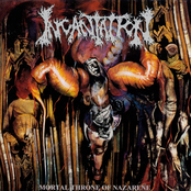 album Mortal Throne of Nazarene by Incantation