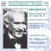 BEETHOVEN: Piano Concerto No. 1 / Egmont Overture (Toscanini)
