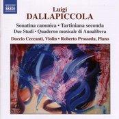 DALLAPICCOLA: Sonatina canonica / Tartiniana seconda