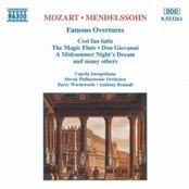 MOZART / MENDELSSOHN: Famous Overtures