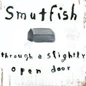 Through a slightly open door