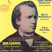 Brahms: Cello Sonatas and Songs with Cellos