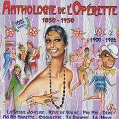Anthologie de l'opérette, vol. 2 (1900-1926)