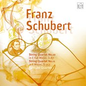 Franz Schubert.String Quartet No.10 in E flat Major, D.87, Op.posth.125, No.1; No.11 in E Major, D.353, Op.posth.125, No.2