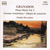 GRANADOS: Escenas Romanticas / Allegro de concierto / Capricho espanol