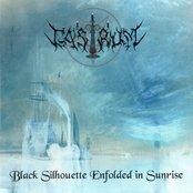 Black Silhouette Enfolded in Sunrise