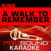 Sing A Walk To Remember (Karaoke Performance Tracks)