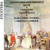 J.C.F. Bach, Complete Sonatas for Flute & Harpsichord cd