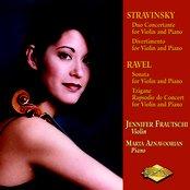 Stravinsky, I.: Duo Concertante  / Ravel, M.: Violin Sonata