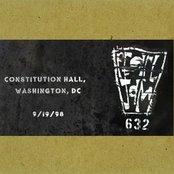 1998-09-19: Constitution Hall, Washington, DC, USA
