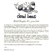 Dead Bees records label sampler #6