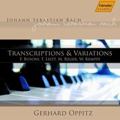 Transcriptions And Variations Of Music By J. S. Bach