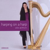 harping on a harp
