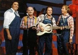 The Hee Haw Gospel Quartet