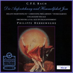 Image for 'C.P.E. Bach: Die Auferstehung und Himmelfahrt Jesu Wq 240'