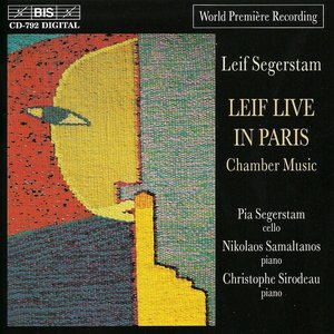 Image for 'Segerstam: Chamber and Instrumental Music for Cello and Piano'