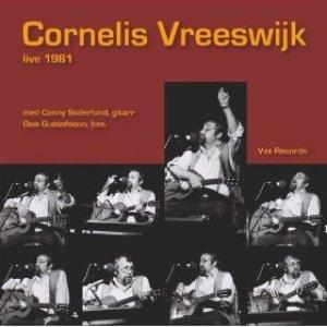 Image pour 'Cornelis Vreeswijk Live 1981'