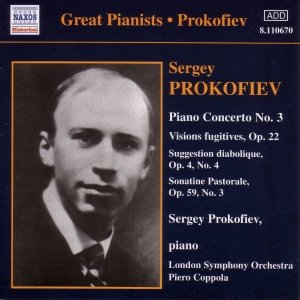 Image for 'PROKOFIEV: Piano Concerto No. 3 / Vision Fugitives (Prokofiev) (1932, 1935)'