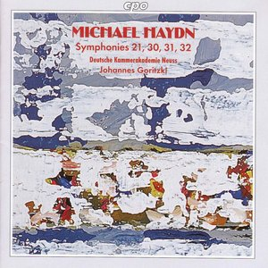 Image for 'Haydn, M.: Symphonies, Nos. 21, 30, 31, and 32'