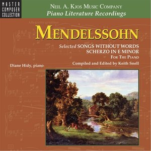 Immagine per 'Mendelssohn: Selected Songs Without Words/Scherzo in E Minor — for the Piano'
