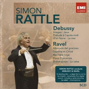 Image for 'Sir Simon Rattle: Debussy/Ravel'
