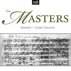 Image for 'The Masters Vol. 1- Great Concerti (Famous Works For Violin)'
