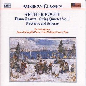 Image for 'FOOTE: Piano Quartet / String Quartet / Nocturne and Scherzo'